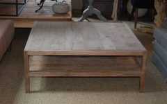 Large Teak Coffee Tables