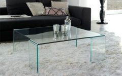 Transparent Glass Coffee Tables