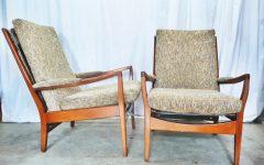 Cintique Mid Century Armchairs