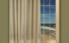 Striped Door Curtain