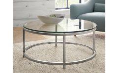 Glass Circular Coffee Tables