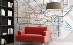 London Tube Map Wall Art