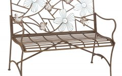 Aranita Tree of Life Iron Garden Benches