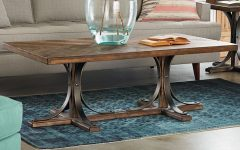 Magnolia Home Iron Trestle Cocktail Tables