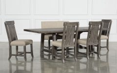 Jaxon Grey Round Extension Dining Tables