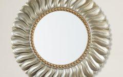 Karn Vertical Round Resin Wall Mirrors