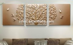 India Abstract Metal Wall Art