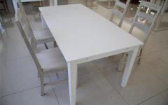 White Melamine Dining Tables
