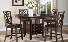 Barra Bar Height Pedestal Dining Tables