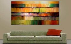 Big Abstract Wall Art