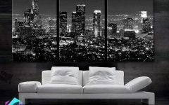 Los Angeles Canvas Wall Art