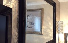 Black Shabby Chic Mirror