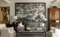 Oversized Framed Art