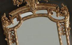 Gold Rococo Mirror