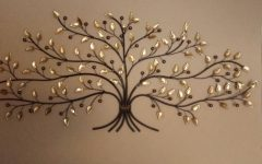 Oak Tree Large Metal Wall Art