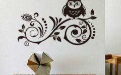 Owl Wall Art Stickers