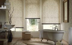Bathroom Roman Blinds
