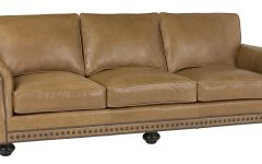 Traditional Leather Couch