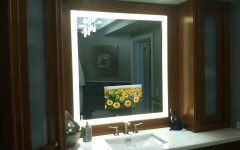 Led Lighted Mirrors