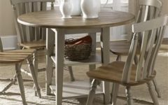 Transitional Drop Leaf Casual Dining Tables