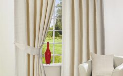 Lined Cream Curtains