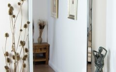 Long Frameless Mirror