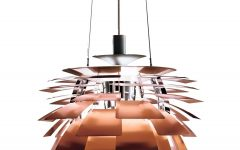 Copper Chandeliers