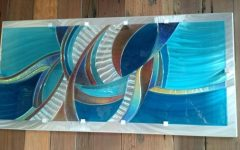 Fused Glass Wall Art Hanging
