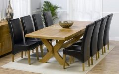 Extending Dining Tables and 8 Chairs
