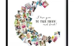 Love You to the Moon and Back Wall Art