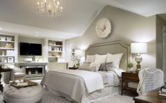 Luxury Fabric Bedroom With Classic Look