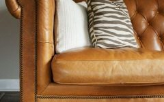 Camel Color Leather Sofas