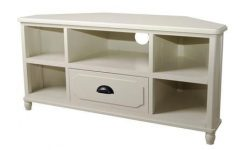 Cream Corner TV Stands