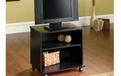 Small TV Stands on Wheels