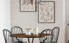 Magnolia Home Breakfast Round Black Dining Tables