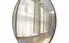 Large Round Convex Mirror