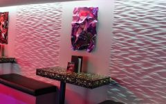 Painting 3D Wall Panels