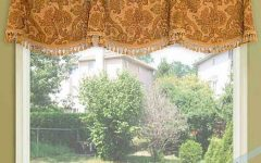 Medallion Window Curtain Valances