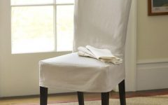 Pottery Barn Chair Slipcovers