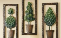 Topiary Wall Art