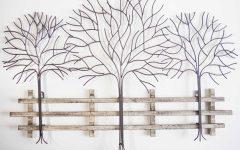 Wrought Iron Tree Wall Art