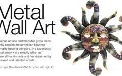 Mexican Metal Wall Art