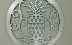 Pineapple Metal Wall Art