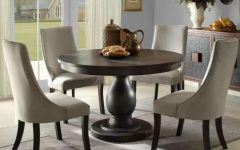 Circular Dining Tables for 4
