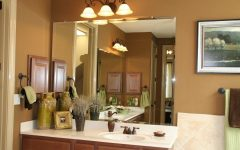 Frameless Beveled Bathroom Mirrors