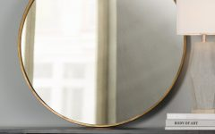 Large Round Mirrors for Sale