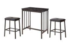Mizpah 3 Piece Counter Height Dining Sets