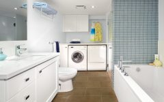 15 Bathroom And Laundry Interior Design In One Room