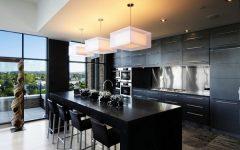Modern Home Bar Black Color Theme
