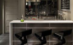 Modern Home Bar Design for Apartment